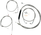 Cable/Brake Line Kit Beach Bars & Extra Wide Stainless Steel LA-8100KT-04