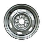 64757 Reconditioned OEM 14in Silver Steel Wheel Fits 1994 1997 Mazda B2300