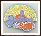 Soaking Up The Sun Paper Piecing Title Embellishment 4 Cards Pages SC4S