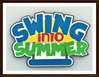 Swing Into Summer Paper Piecing Title Embellishment 4 Cards Pages SC4S