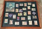 Sandy Koufax Complete Card Set Framed 8X10 Auto W.S. Patches, Jersey RC PSA 5