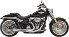 Bassani Road Rage Exhaust for 2018 19 Harley Fat Boy Breakout Chrome 1S94R