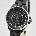 NEW Chanel J12 GMT Ceramic Automatic 41mm H3101 Black on Bracelet B