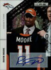 2011 Rookies and Stars Longevity Rookie Autographs #229 Rahim Moore 175