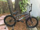 Sunday EX Bmx Flatland Bike Trans Black Raw