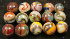 D.A.S. Color Storm  marbles by the Marble Master Dave McCullough  J14e