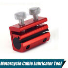 1x Red Bicycle Motorcycle Brake Clutch Cable Lubrication Tool 2 bolts Universal