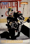 1995 Kenner Starting Lineup Cards Penguins Hockey Card #1 Tom Barrasso