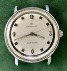 Vintage Hamilton Automatic Stainless Steel Mens Wrist Watch - Working