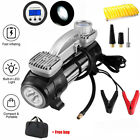12V 150PSI Air Pump Compressor Car Tire Inflator Heavy Duty Portable RV Truck US