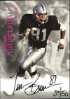 Tim Brown Football Cards, Rookie Cards and Autographed Memorabilia Guide 17