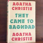 Agatha Christie They Came To Baghdad 1st UK Edition H C D J Crime Club 1951