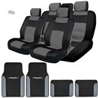 New Elegant Design Mesh and Syn Leather Car Seat Covers Vinyl Mats BG For Jeep