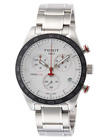 Tissot PRS 516 Chronograph Silver Dial T1004171103100 Mens Swiss Watch