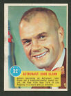 1963 TOPPS ASTRONAUT PICTURES #32 JOHN GLENN POPSICLE BACK EXC EXC+ NO CREASES B