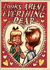1959 Topps Funny Valentines Trading Cards 15