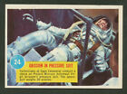 1963 TOPPS ASTRONAUT PICTURES #24 GRISSOM SUIT POPSICLE BACK EXC+ NO CREASES