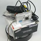 Samsung L Series L100 8.2MP Digital Camera - Silver With ALL ACCESORIES2