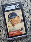 Ultimate Guide to 1950s Mickey Mantle Topps and Bowman Cards 23