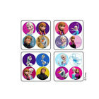 100 Frozen MiniBadges STICKERS Party Favors Birthday Loot Treat Bags Elsa Olaf