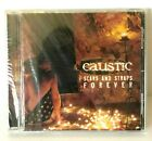 NIP Caustic Scars And Straps Forever Rare Metal CD Not On Label 2003 OOP Rare