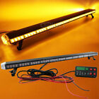 47 55 Led Rooftop Warning Strobe Light Bar Plow Tow Car Truck Amber 40 Modes
