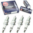 4pcs 09-11 Big Dog Coyote NGK Iridium IX Spark Plugs Kit Set Engine xk