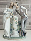 Lladro 4750 Romeo and Juliet Porcelain Figurine Glased Perfect Condition