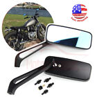 Motorcycle Rear Side Rearview Mirrors 8mm 10mm For Honda Yamaha Kawasaki Suzuki