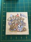 Stampendous Precious Moments Rubber Stamps Teddy Bears Celebration Party M11
