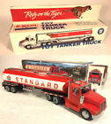 Collectible Toy Tanker trucks lot of 2, 1993 Exxon, 1998 Amoco, NIB