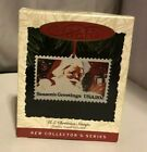 Hallmark Keepsake Ornament  US Christmas Stamps Dated 1993 New 1st in Series