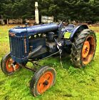 Fordson Major E27N Tractor project barn find