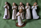 6 Assorted Angels Willow Tree