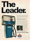 Vintage advertising print Gas Oil American Oil AMOCO Gas Pump The Leader 1977