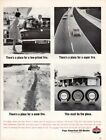Vintage advertising print Gas Oil American Oil AMOCO 120 Tire Must be the Place