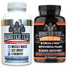 Testosterone Booster Pack w/ Monster Test + Monster Test Nitric Oxide2-PK