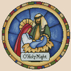 Nativity Stained Glass Counted Cross Stitch COMPLETE KIT No 27 121