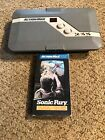 Action Max VHS Game Console With Sonic Fury  VHS. No Wiring