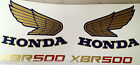 HONDA XBR500 RESTORATION DECAL SET