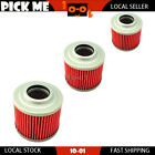 3pcs Motorcycle Oil Filter For MuZ 500 Red Star Classic 1997