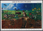 2001 GREAT PLAINS PRAIRIE 3rd Nature of America Mint Sheet 10 34 Stamps 3506