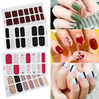 Nail Polish Strips Gradient MultiColor Sticker Nail Art Decals Tips Manicure