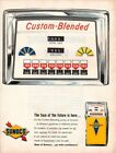 Vintage advertising print Gas Oil SUNOCO Gas Pump Face of the Future Custom 1963