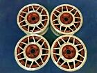 VOLKSWAGEN JETTA CABRIOLET RABBIT GOLF 14x6 RED MACHINED OE WHEELS RIMS 69637