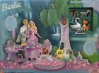 Barbie of Swan Lake Enchanted Forest Playset Animals Tree Swing Pond Base Age 3+