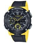 Casio G-Shock Carbon Core Guard Watch with Yellow Resin Strap - GA-2000-1A9