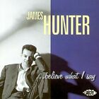 James Hunter - Believe What I Say (CD Used Very Good)