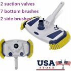 Pool Vacuum Head Cleaner Brush Sweep Broom Swim Skimmer Cleaning Accessories