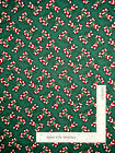 Christmas Candy Cane Holiday Toss Green Cotton Fabric Springs CP28181 Yard